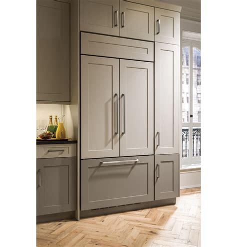 monogram  built  french door refrigerator zipnh ge appliances
