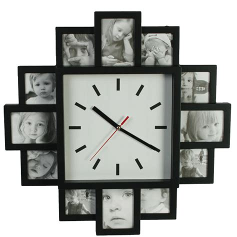 horloge murale cadre photo horloge cadre photo
