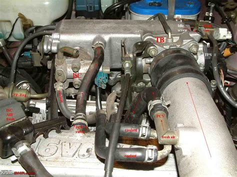 Geo Tracker Engine Diagram 8 Valve by Finding A Wrecked Baleno For My Gv Engine Parts Team Bhp