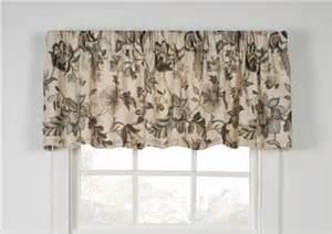 brissac jacobean floral print tailored valance window