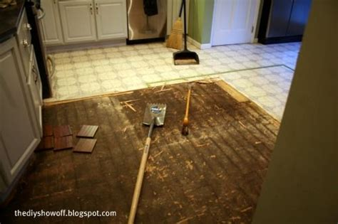 diy project parade and a kitchen floor demo