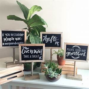 Chalkboard, Sign, Customized, Sign, Gift, Table, Sign, Wedding