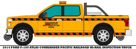 2014 Ford F-150 Atlas Corriander Pacific Railr By