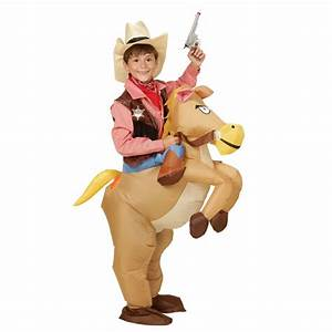 Kostüm Auf Rechnung : aufblasbares kinder kost m cowboy mit hut auf pferd super lustiges kinderkost m ~ Themetempest.com Abrechnung