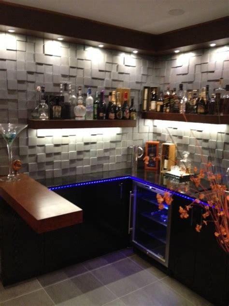 cool design  small bar contemporary living room