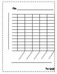 this is a blank bar graph template with room for a title With bar graphs