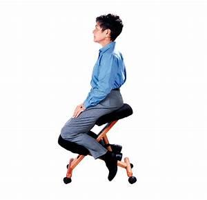 Sige ergonomique Accent wood assis genoux
