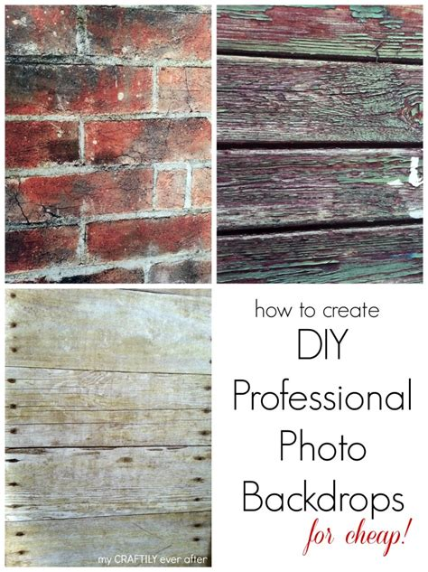 Backdrops How To Make by How To Create Professional Photo Backdrops My Craftily