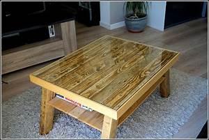 Fabriquer Une Table Basse En Palette : comment faire une table basse en palette ~ Melissatoandfro.com Idées de Décoration