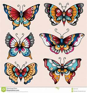 traditional butterfly tattoo - Cerca con Google | tattoo ...