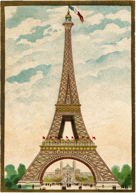 vintage eiffel tower clip art eiffel tower clip art