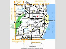 Wisconsin County Map Gis Sheboygan 1