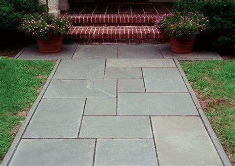 pattern  walkway bluestone walkway closeup ideas