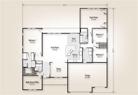 adair homes floor plans the mt 2734 home plan adair homes