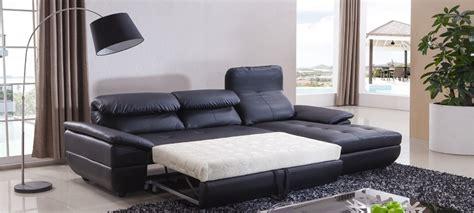 canapé lit convertible couchage quotidien canapé d 39 angle convertible en cuir prix imbattables