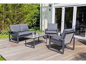 Gartenmöbel Set Grau : haveson lounge set palma kaufen bei ~ Whattoseeinmadrid.com Haus und Dekorationen