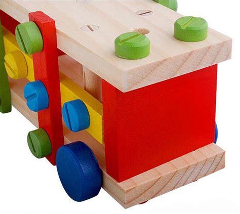 buy wooden screw nut combination tool cart diy baby