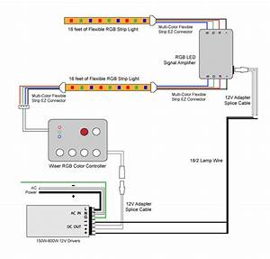 12v Led Strip Light Wiring Diagram