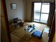 Apartment tatami room Already a mess, after just a few