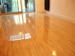 high gloss laminate flooring oak