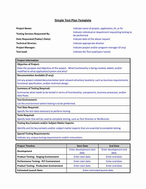 Performance Testing Test Plan Template by 11 New Individual Performance Plan Exles Davidhowald