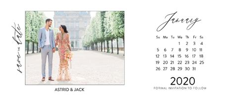 print printable calendar save date cards