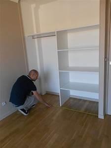 poser une porte coulissante avec rail au sol etapes de pose With pose rail porte coulissante