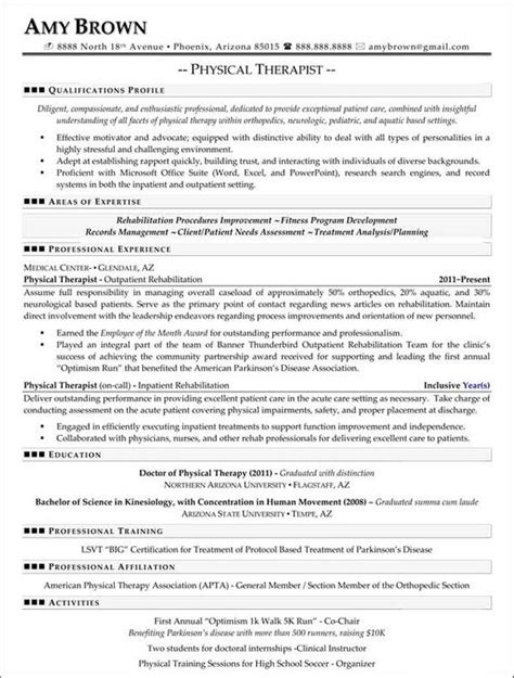 18450 physical therapist resume physical therapy resume ingyenoltoztetosjatekok