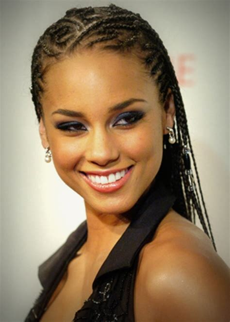 Ciara Cornrow Hairstyle by Top 100 Hairstyles 2014 For Black Mitindo Plus