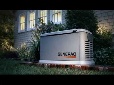 Generac Power Systems Generator Commercial - YouTube
