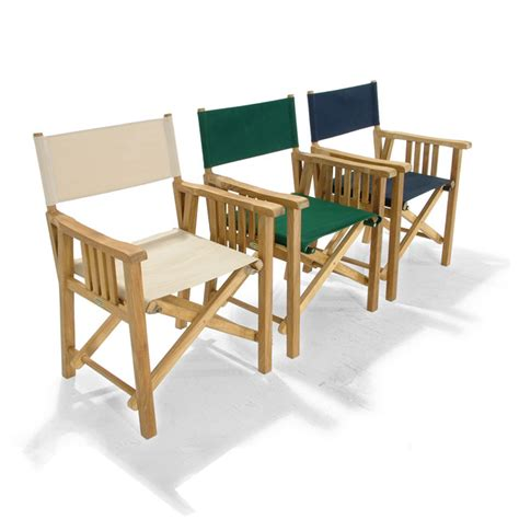 barbuda folding teak director chair westminster teak