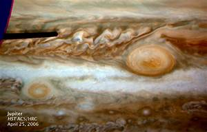 Jupiter's giant red spot shrinking, Hubble images show ...