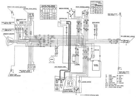 Honda Ssa Electrical Wiring Diagram Circuit