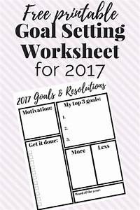 8 free goal setting worksheet printables tip junkie With smart goals and objectives checklist