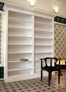 Bücherregal Weiß Holz : b cherregal wei massiv holz erle 240x200x35cm ebay ~ Indierocktalk.com Haus und Dekorationen