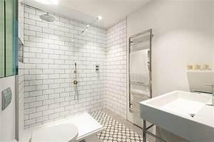 salle de bain avec du carrelage metro With carrelage metro salle de bain
