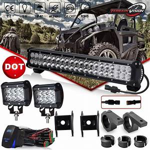 Led Light Bar 20 Inch 126w Offroad Light Bar Flood Spot