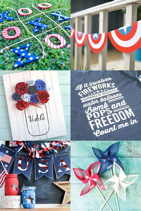 Completely free svg files for cricut, silhouette, sizzix and many other svg compatible electronic cutting machines. 4th of July Cut Files for Cricut or Silhouette - Hey, Let ...