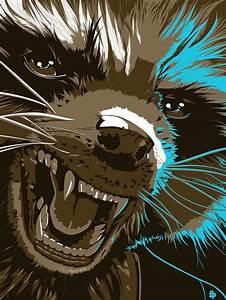 Rocket Raccoon art by Stephen Sampson | fondos c ...
