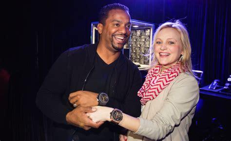 haute event hublot hosts star studded pop   los