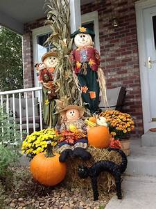 Pinterest Decoration : 17 best images about fall hay bales on pinterest old wagons pumpkins and fall front porches ~ Melissatoandfro.com Idées de Décoration
