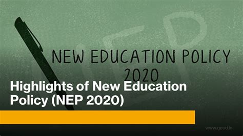 highlights   education policy nep