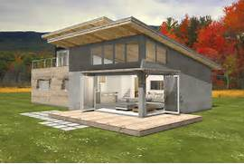 Shed Home Designs by Modern Style House Plan 3 Beds 2 Baths 2115 Sq Ft Plan 497 31