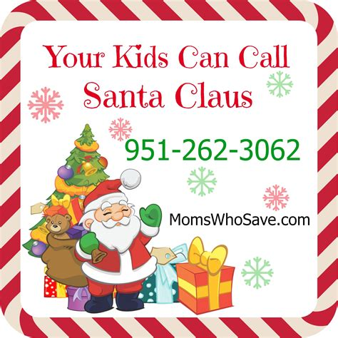 santa s phone number your can call santa it s free momswhosave