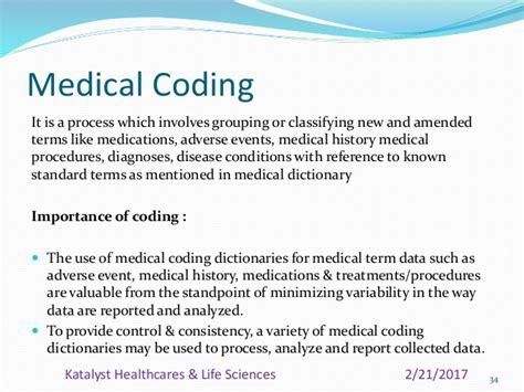 clinical coding management process hls medical form