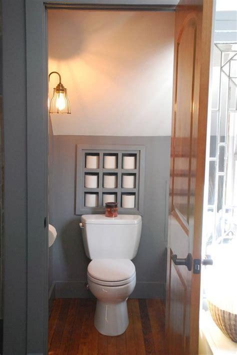cinq id 233 es de rangements pour papier toilette aux wc