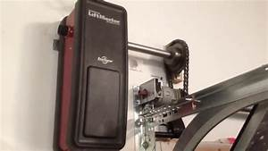 Liftmaster 8500    3800 On Wayne Dalton Torquemaster Tube