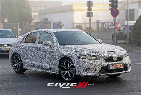 Get all of the civic's information right here. Spied: 2022 Civic Hatchback up close | CivicXI - 11th Gen ...