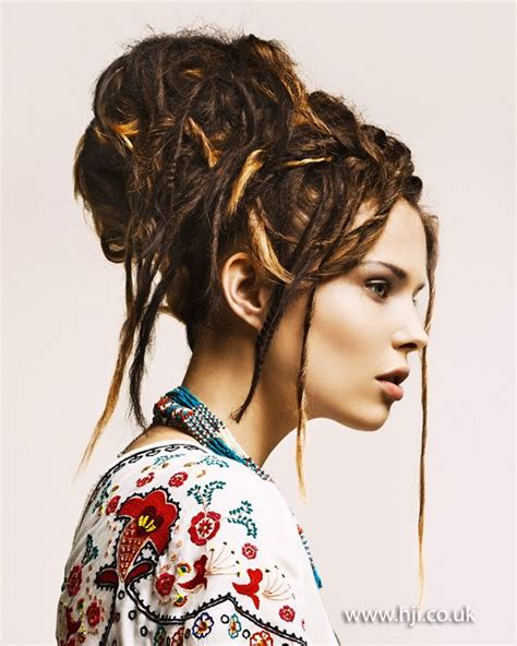 Updo Hairstyles For Dreads by White Dreadlock Styles For Dreadlocks Updo