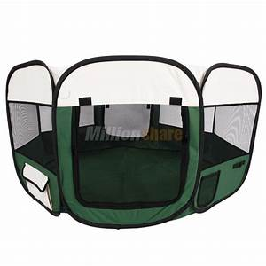45quot57quot dog kennel pet fence puppy soft oxford playpen With oxford dog crate